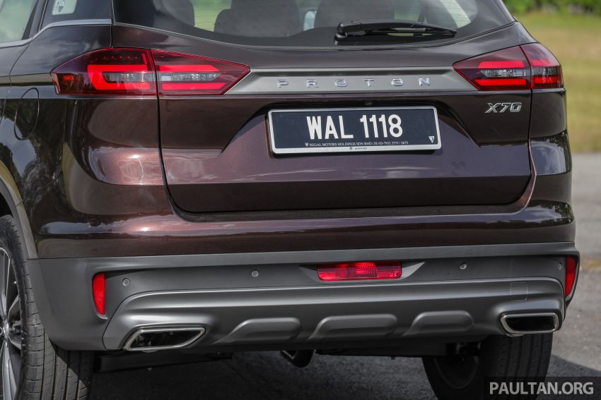 DRIVEN: Proton X70 SUV review – it's worth the hype Image #909760