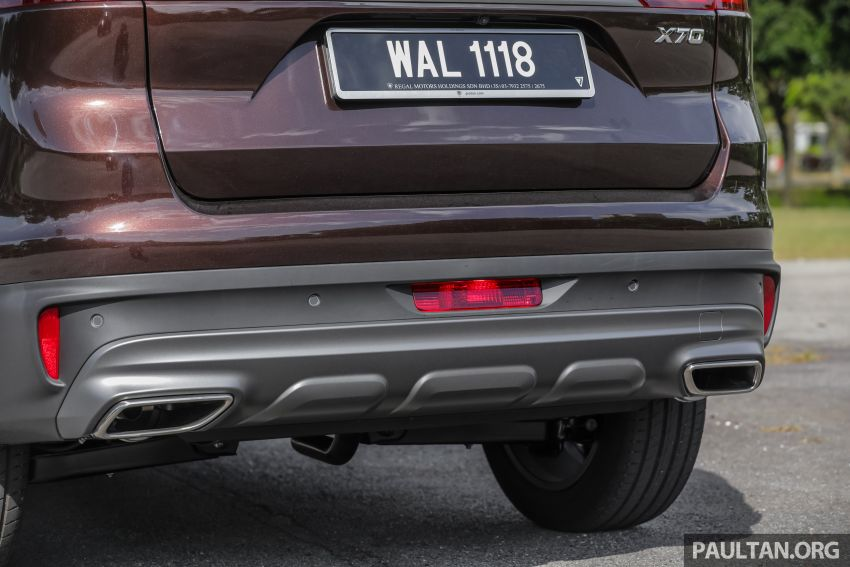 DRIVEN: Proton X70 SUV review – it's worth the hype Image #909765