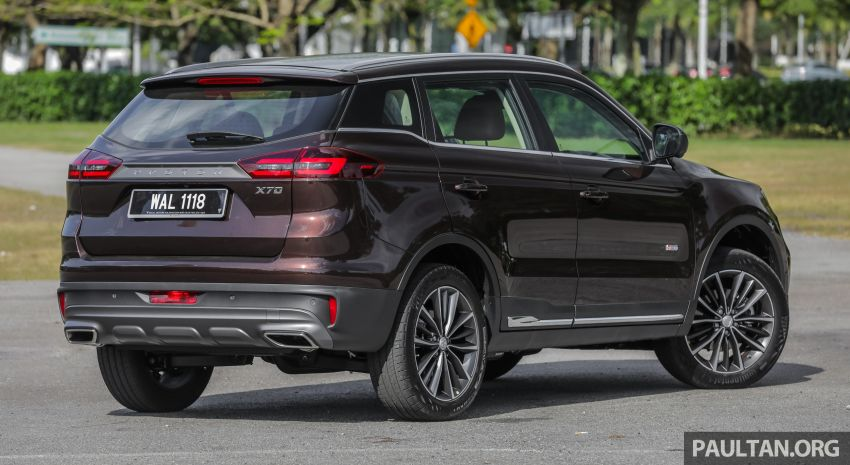 DRIVEN: Proton X70 SUV review – it's worth the hype Image #909735