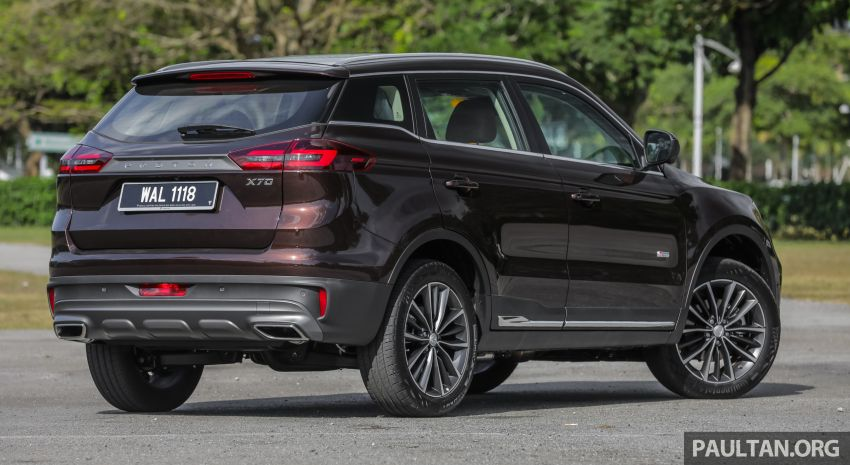 DRIVEN: Proton X70 SUV review – it's worth the hype Image #909736