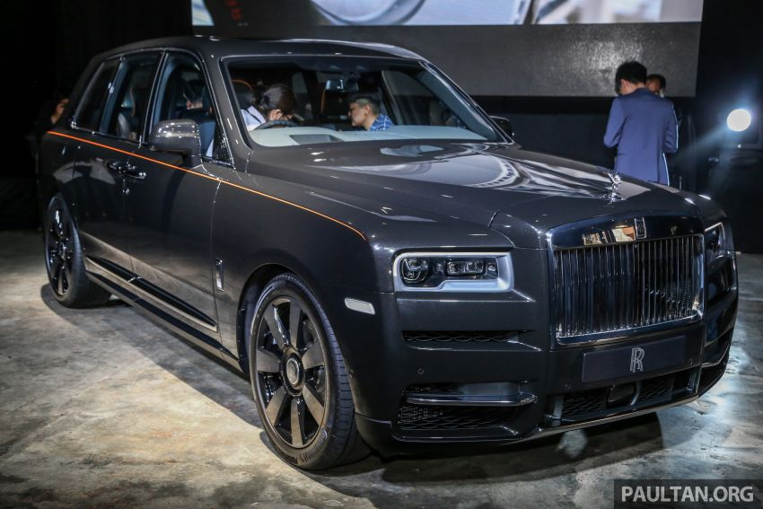 Rolls-Royce Cullinan now in Malaysia – from RM1.8 mil Image #915172