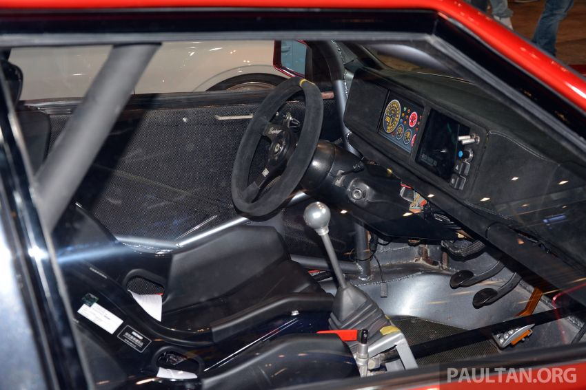 TAS2019: Lancia Delta Fenice 105 oleh Sano Design – jentera 'Time Attack' agresif dengan bekalan 600 hp Image #912934
