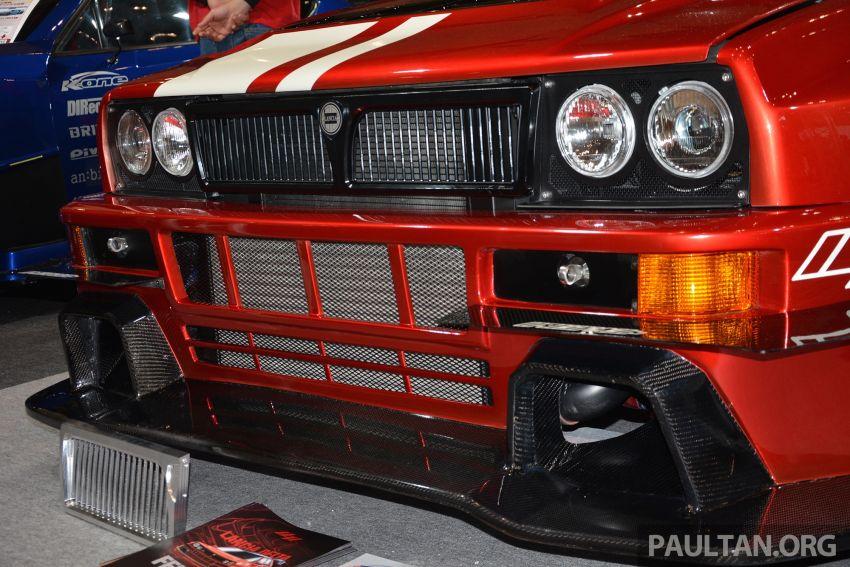 TAS2019: Lancia Delta Fenice 105 oleh Sano Design – jentera 'Time Attack' agresif dengan bekalan 600 hp Image #912945