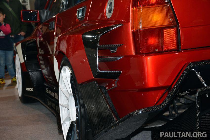 TAS2019: Lancia Delta Fenice 105 oleh Sano Design – jentera 'Time Attack' agresif dengan bekalan 600 hp Image #912940