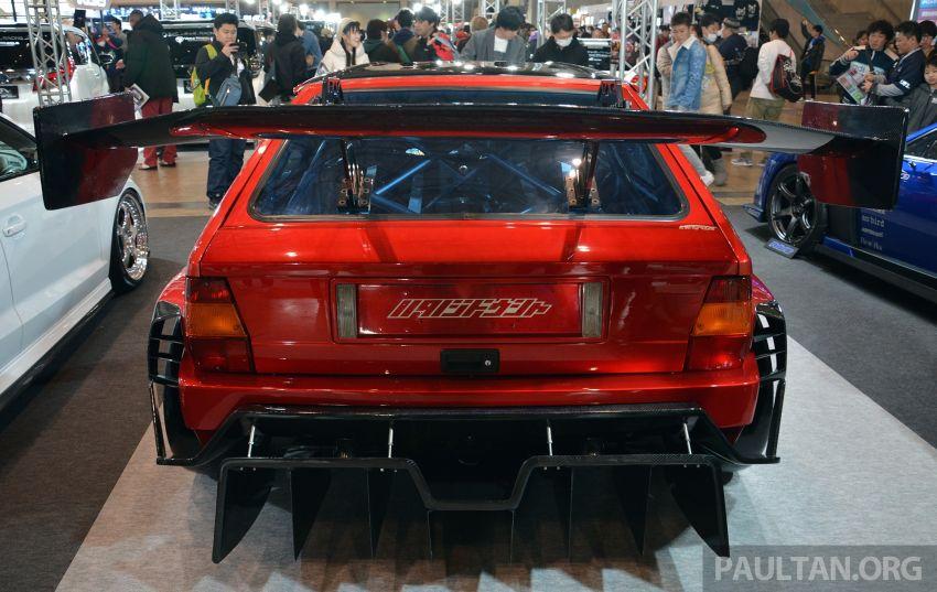 TAS2019: Lancia Delta Fenice 105 oleh Sano Design – jentera 'Time Attack' agresif dengan bekalan 600 hp Image #912933
