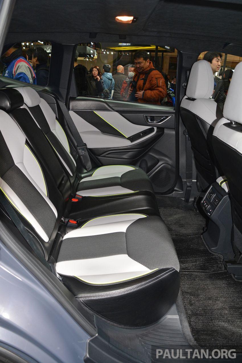 TAS 2019: Subaru Forester Advance Sport Concept Image #912586