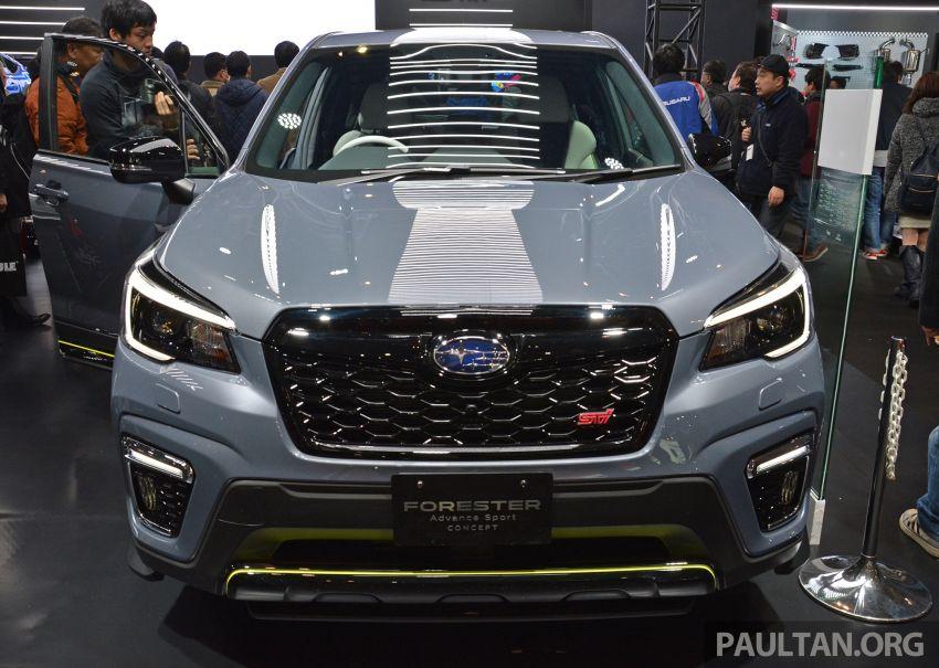 TAS 2019: Subaru Forester Advance Sport Concept Image #912581