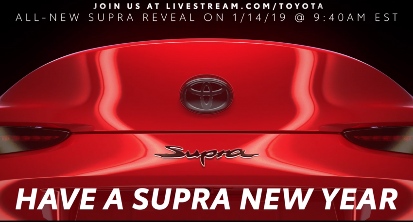 A90 Toyota Supra promo video leaked ahead of debut Image #909185