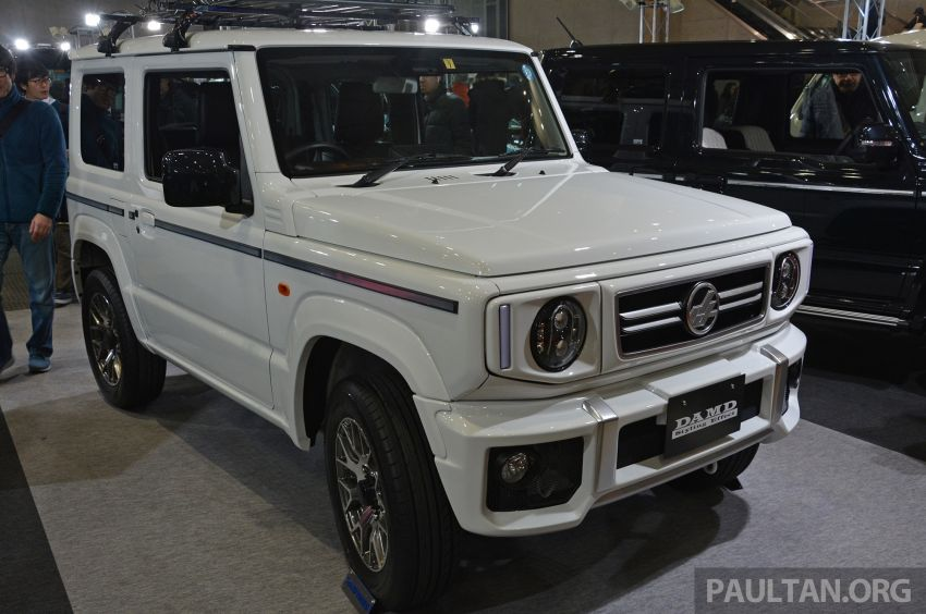 TAS2019: Suzuki Jimny Little G and Little D by DAMD Image #909953