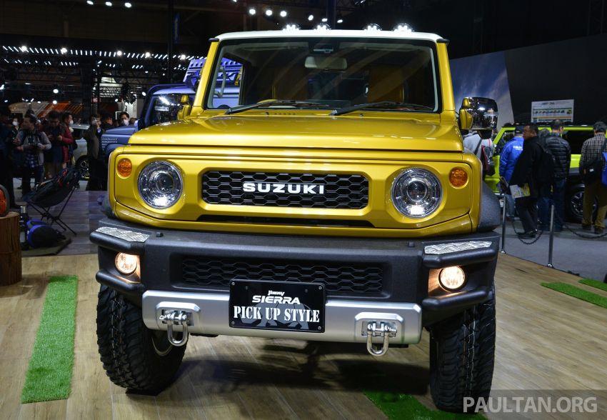 TAS2019: Suzuki Jimny Sierra Pick-up Concept – jelmaan semula Toyota BJ40 dalam era moden! Image #909593