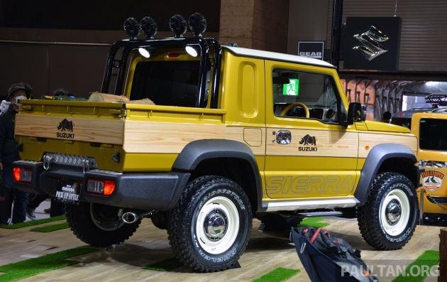 TAS 2019: Suzuki Jimny Sierra Pick-up Style concept