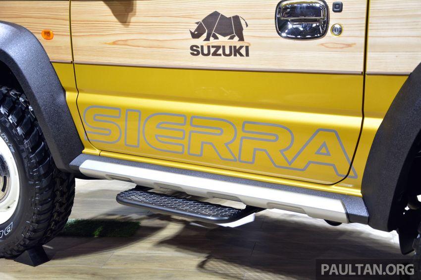 TAS2019: Suzuki Jimny Sierra Pick-up Concept – jelmaan semula Toyota BJ40 dalam era moden! Image #909597