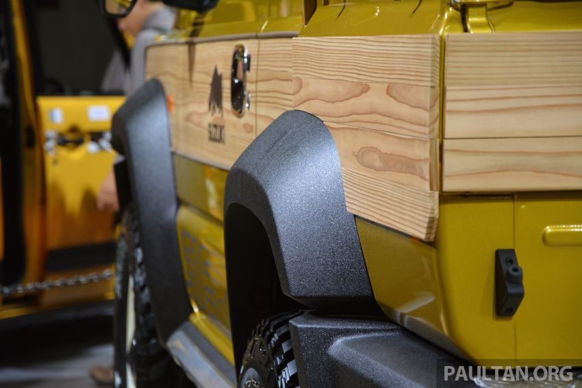 TAS2019: Suzuki Jimny Sierra Pick-up Concept – jelmaan semula Toyota BJ40 dalam era moden! Image #909584