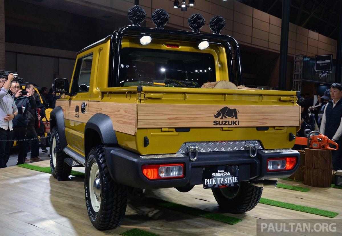 TAS 2019: Suzuki Jimny Sierra Pick-up Style concept Paul ...
