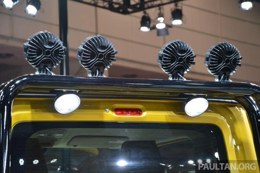 TAS2019: Suzuki Jimny Sierra Pick-up Concept – jelmaan semula Toyota BJ40 dalam era moden! Image #909591