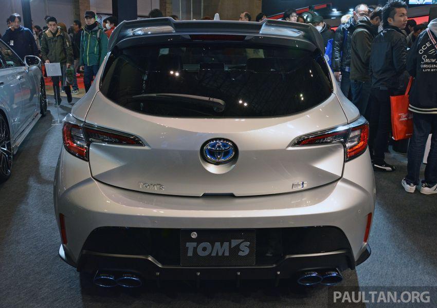 TAS2019: TOM'S Corolla Sport – tampil lebih agresif Image #912003