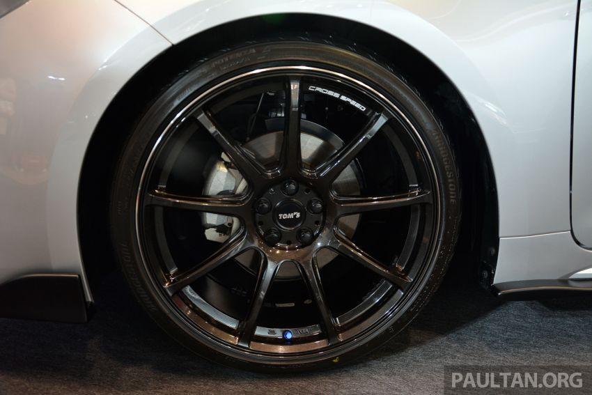 TAS2019: TOM'S Corolla Sport – tampil lebih agresif Image #912004