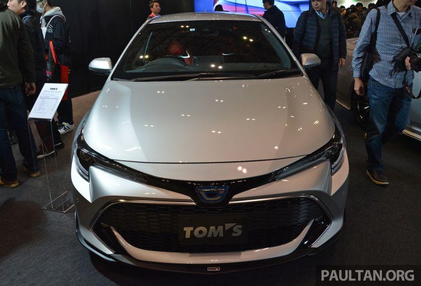 TAS2019: TOM'S Corolla Sport – tampil lebih agresif Image #912010