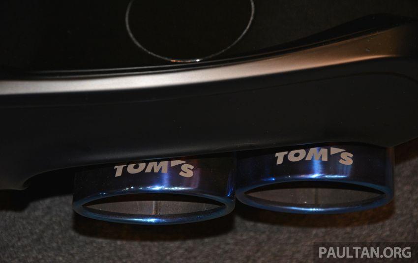 TAS2019: TOM'S Corolla Sport – tampil lebih agresif Image #911989