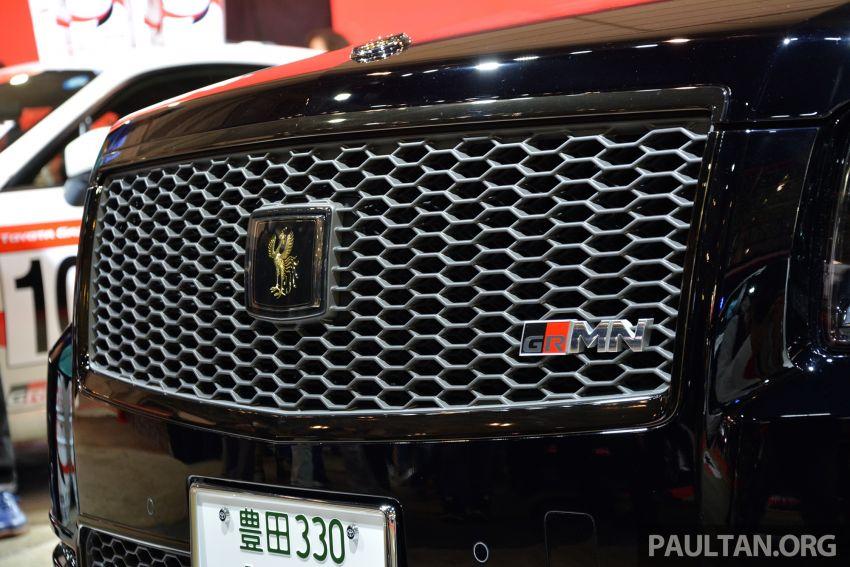 TAS 2019: Toyota Century GRMN – Akio's company car Image #913912