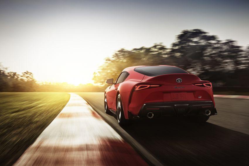 Toyota GR Supra akhirnya didedah – model enjin enam silinder sebaris 3.0L 340 PS dijual bermula RM205k Image #910646