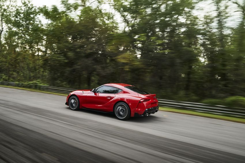 Toyota GR Supra revealed – first global Gazoo Racing model, 340 PS 3.0L straight-six priced from RM205k Image #910366
