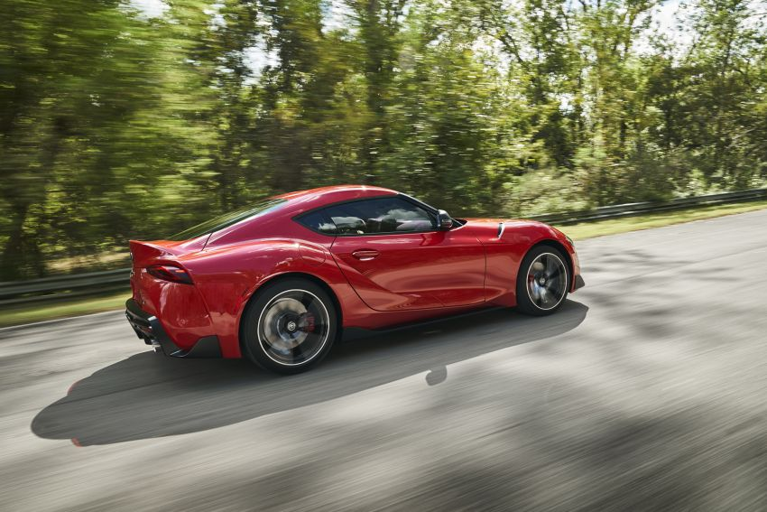 Toyota GR Supra revealed – first global Gazoo Racing model, 340 PS 3.0L straight-six priced from RM205k Image #910368