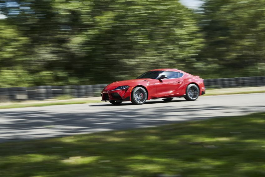 Toyota GR Supra revealed – first global Gazoo Racing model, 340 PS 3.0L straight-six priced from RM205k Image #910371
