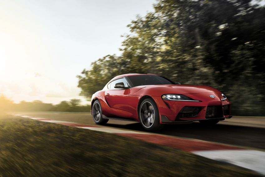 Toyota GR Supra revealed – first global Gazoo Racing model, 340 PS 3.0L straight-six priced from RM205k Image #910356