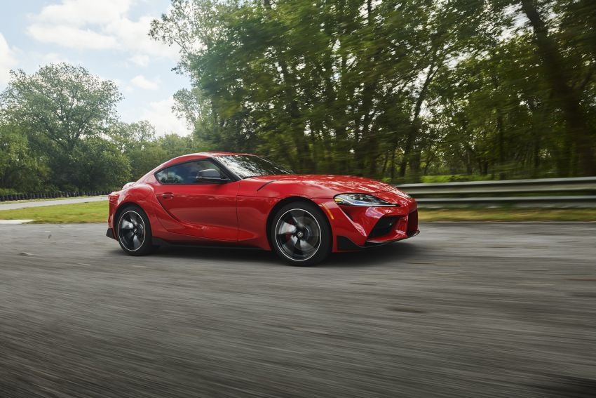 Toyota GR Supra revealed – first global Gazoo Racing model, 340 PS 3.0L straight-six priced from RM205k Image #910375
