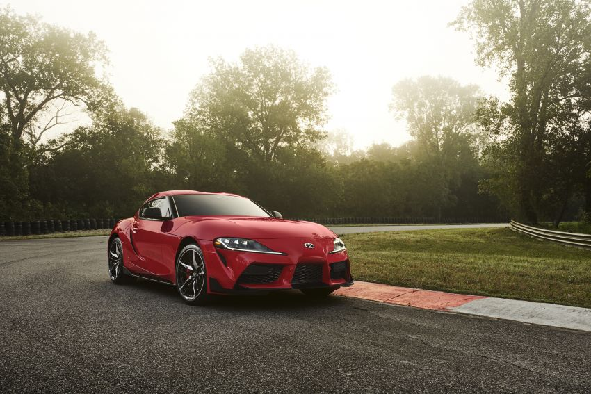 Toyota GR Supra revealed – first global Gazoo Racing model, 340 PS 3.0L straight-six priced from RM205k Image #910381