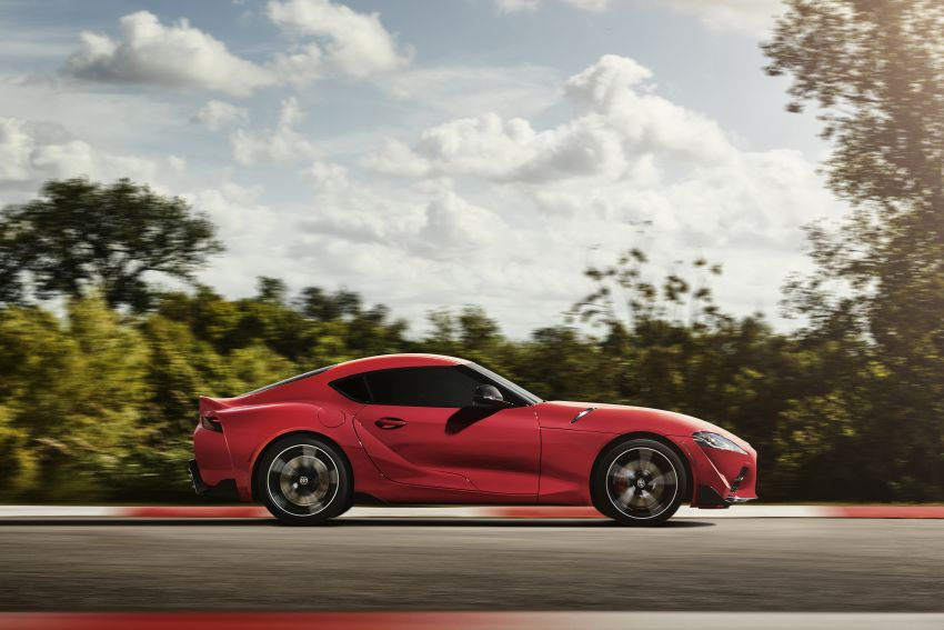 Toyota GR Supra revealed – first global Gazoo Racing model, 340 PS 3.0L straight-six priced from RM205k Image #910357