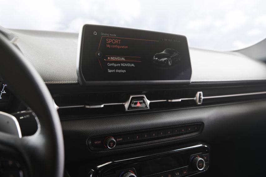 Toyota GR Supra akhirnya didedah – model enjin enam silinder sebaris 3.0L 340 PS dijual bermula RM205k Image #910689