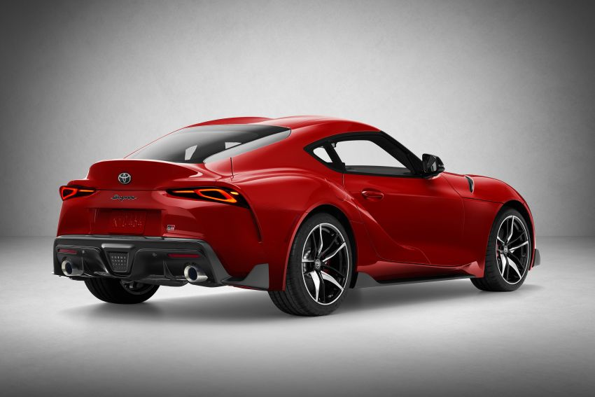 Toyota GR Supra revealed – first global Gazoo Racing model, 340 PS 3.0L straight-six priced from RM205k Image #910405