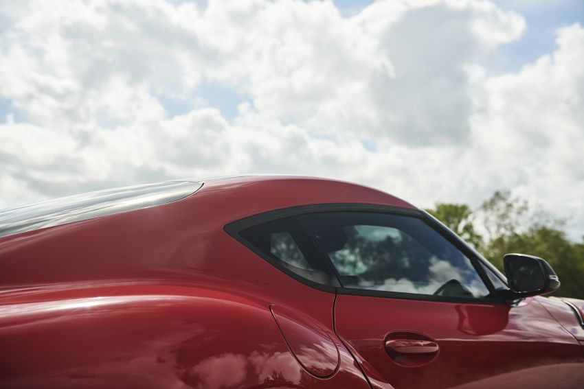 Toyota GR Supra akhirnya didedah – model enjin enam silinder sebaris 3.0L 340 PS dijual bermula RM205k Image #910650