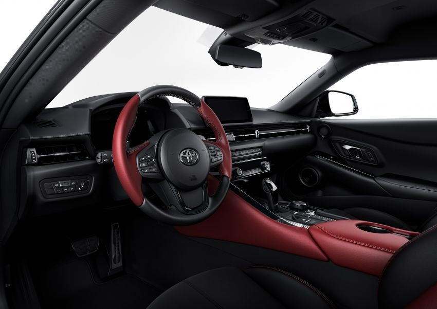 Toyota GR Supra revealed – first global Gazoo Racing model, 340 PS 3.0L straight-six priced from RM205k Image #910417