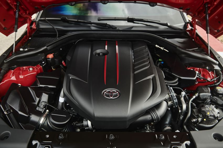 Toyota GR Supra akhirnya didedah – model enjin enam silinder sebaris 3.0L 340 PS dijual bermula RM205k Image #910651