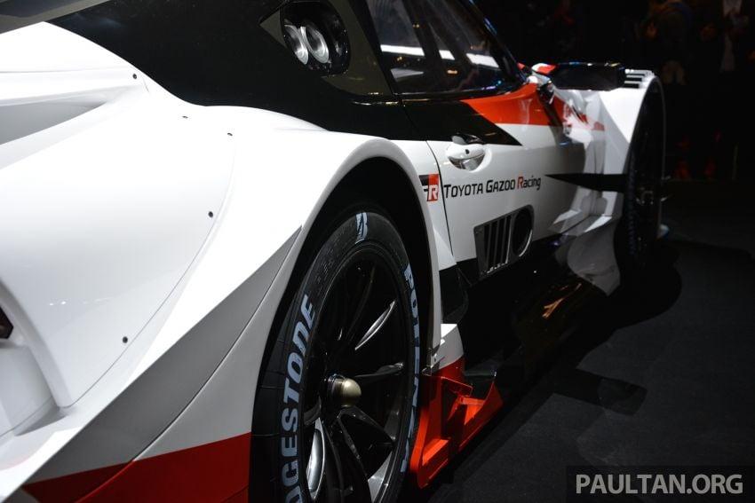 TAS 2019: Toyota GR Supra Super GT Concept shown Image #909073