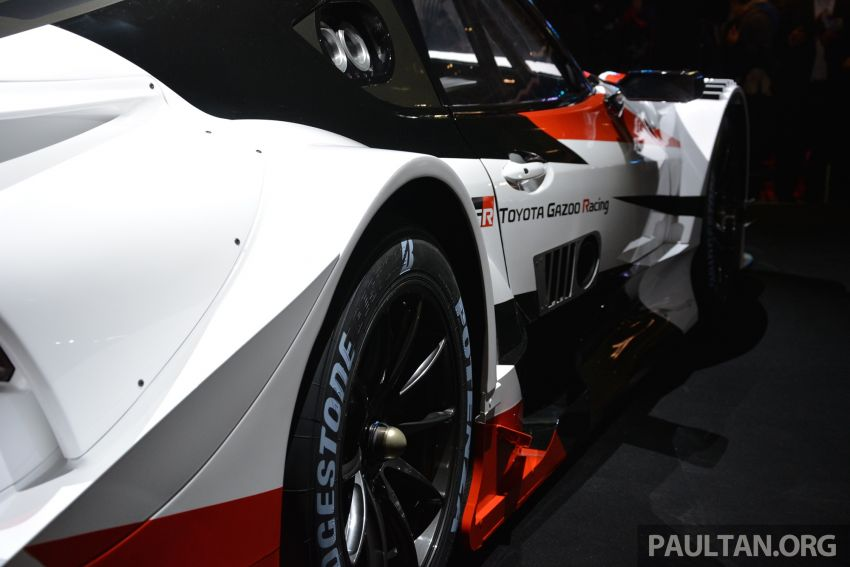 TAS2019: GR Supra Super GT Concept didedahkan Image #909049