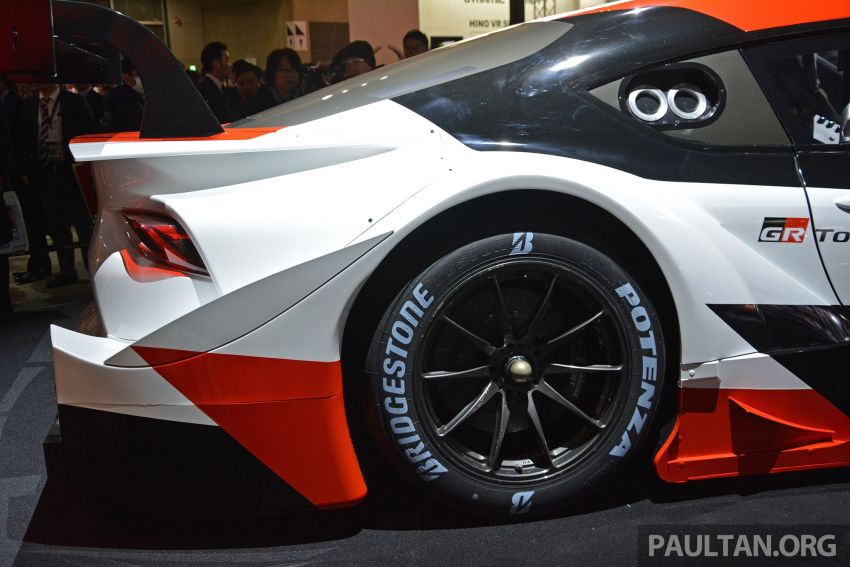 TAS2019: GR Supra Super GT Concept didedahkan Image #909051