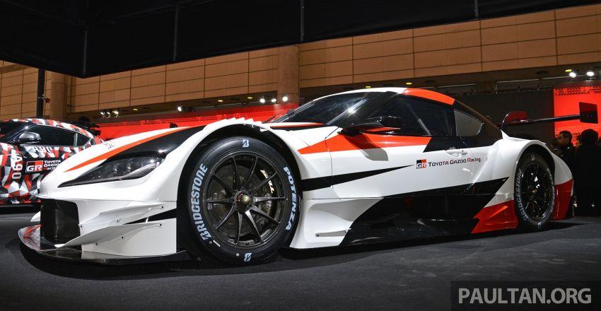 TAS2019: GR Supra Super GT Concept didedahkan Image #909054