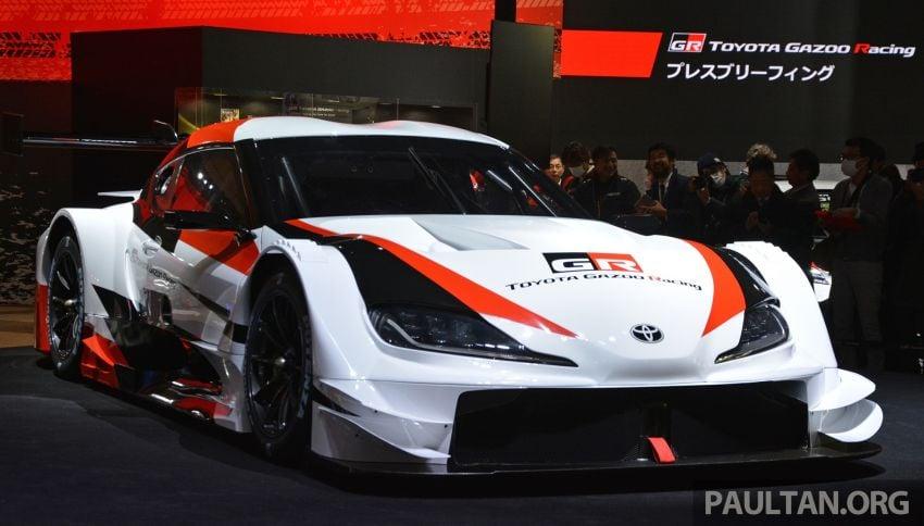 TAS 2019: Toyota GR Supra Super GT Concept shown Image #909061