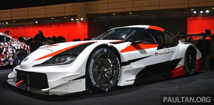 TAS2019: GR Supra Super GT Concept didedahkan Image #909057