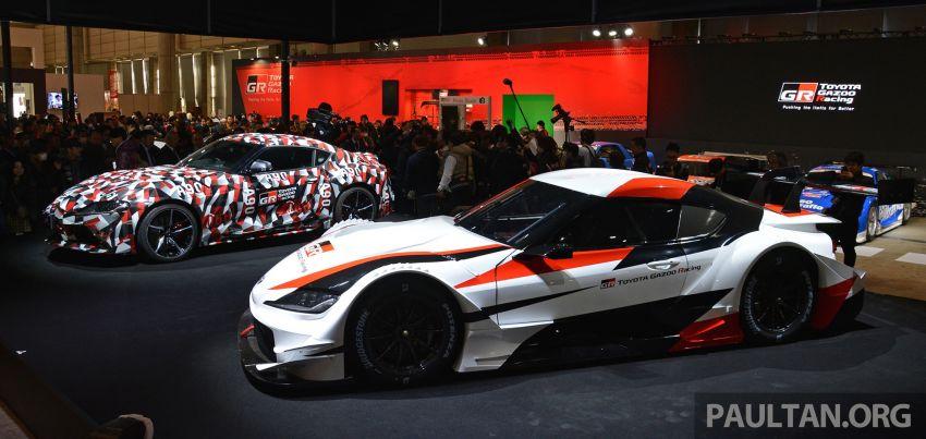 TAS 2019: Toyota GR Supra Super GT Concept shown Image #909063