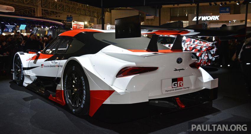 TAS2019: GR Supra Super GT Concept didedahkan Image #909042
