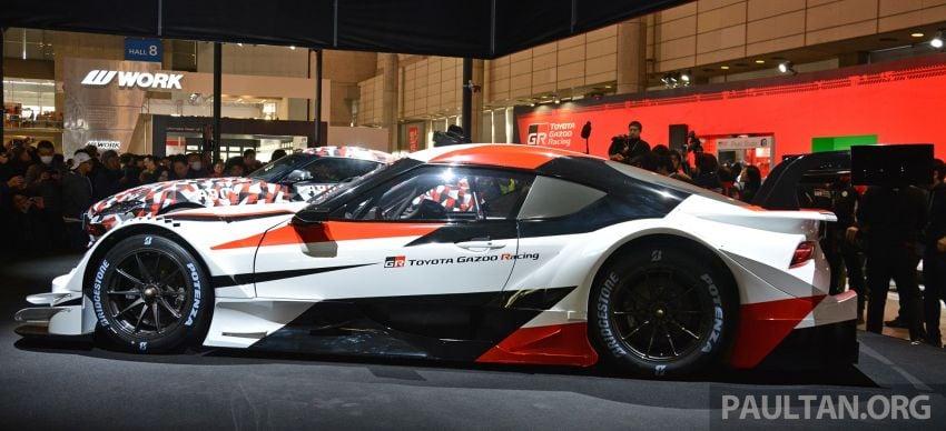 TAS2019: GR Supra Super GT Concept didedahkan Image #909043