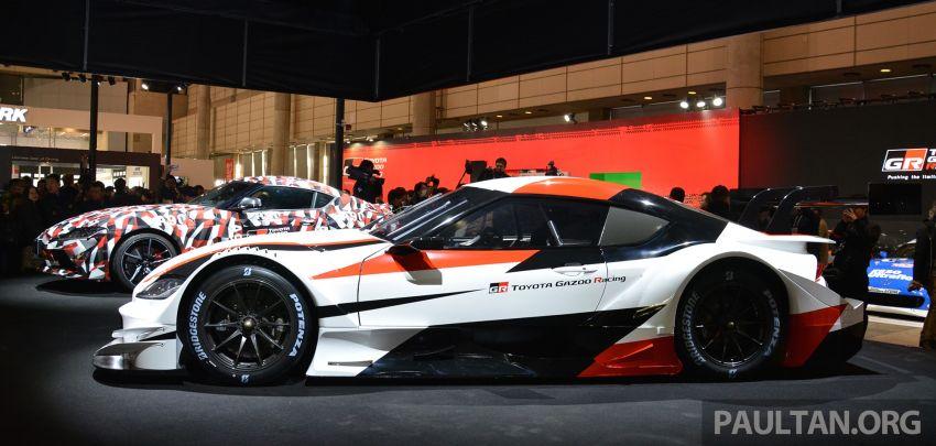 TAS 2019: Toyota GR Supra Super GT Concept shown Image #909068