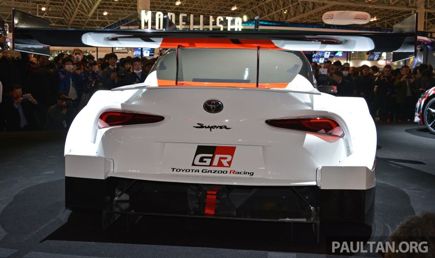 TAS 2019: Toyota GR Supra Super GT Concept shown Image #909069