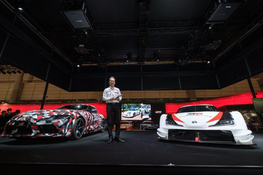 TAS 2019: Toyota GR Supra Super GT Concept shown Image #909201