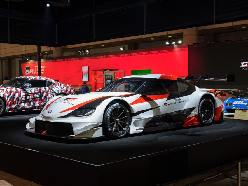TAS 2019: Toyota GR Supra Super GT Concept shown Image #909203